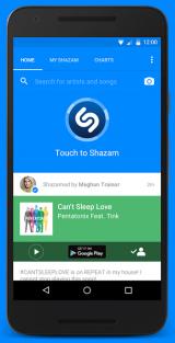 Shazam for Android screenshot