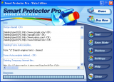Smart Protector Standard - Internet Eraser screenshot
