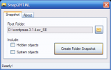 Snap2HTML screenshot