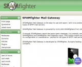 SPAMfighter Mail Gateway screenshot