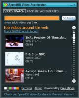 SpeedBit Video Accelerator screenshot
