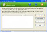 SQL Server Password Changer screenshot