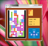 SSuite Tetris 2D screenshot