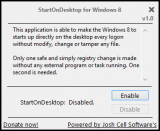 StartOnDesktop screenshot