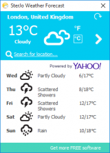 SterJo Weather Forecast screenshot
