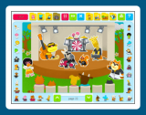 Sticker Activity Pages 3: Animal Town screenshot