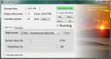 SunsetScreen screenshot
