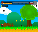Super Mario: Flash Version screenshot