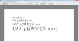 SymbolChooser screenshot