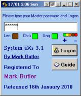 System aXs screenshot