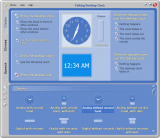 Talking Desktop Clock screenshot