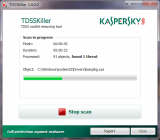 TDSSKiller screenshot