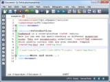 TeXstudio screenshot