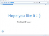 TheWorld Browser screenshot
