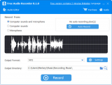ThunderSoft Audio Recorder Free Edition screenshot