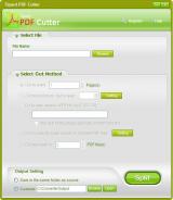 Tipard PDF Cutter screenshot