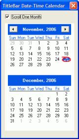 Titlebar Date-Time screenshot