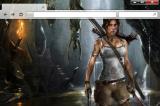 Tomb Raider Art Theme for Opera screenshot