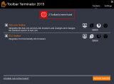 ToolbarTerminator screenshot