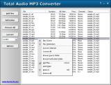Total Audio MP3 Converter screenshot
