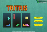 Tritris screenshot