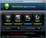 Trustport Antivirus for Servers screenshot