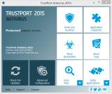 TrustPort Antivirus screenshot
