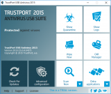TrustPort USB Antivirus screenshot