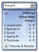 UEFA Informer screenshot
