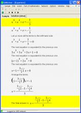Universal Math Solver screenshot
