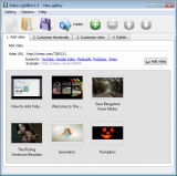 Video LightBox screenshot