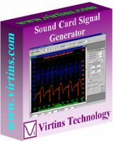 Virtins Sound Card Signal Generator screenshot