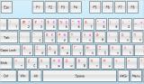 Virtual Keyboard for WinForms screenshot