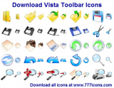 Vista Toolbar Icons screenshot