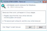 W32.Blaster Worm Remover screenshot