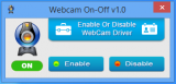 Webcam On-Off screenshot