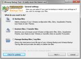 Winamp Backup Tool screenshot