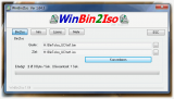WinBin2Iso Portable screenshot