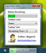 Windows 7 Battery Bar screenshot
