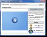 Windows 7 Folder Background Changer screenshot