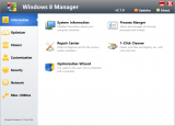 Windows 8 Manager screenshot