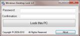 Windows Desktop Lock screenshot