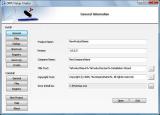 Windows Installation Package Creator screenshot