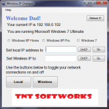 Windows IP Changer screenshot