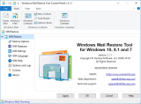 Windows Mail Restore Tool screenshot