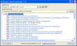 Windows UpdatesDownloader screenshot
