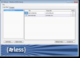 WinLess screenshot