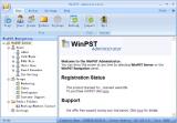 WinPST Share Outlook screenshot