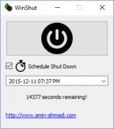 WinShut screenshot
