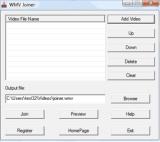 WMV Joiner screenshot